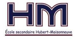 École sec. Hubert-Maisonneuve - Costa-Rica